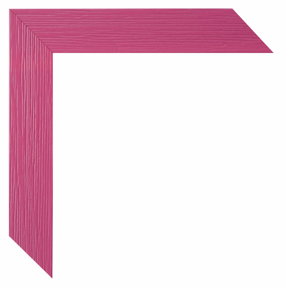 Bilderrahmen Simply pink Massivholz 9x13 bis 45x60