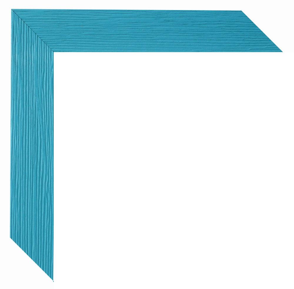 Bilderrahmen Simply hellblau Massivholz 9x13 bis 45x60